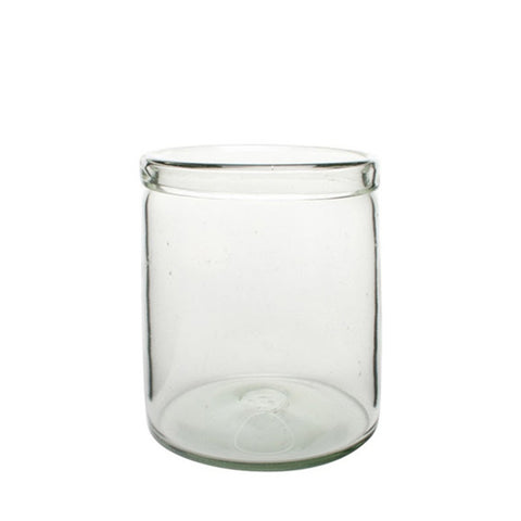Cylinder Glass Vase by Canvas Home