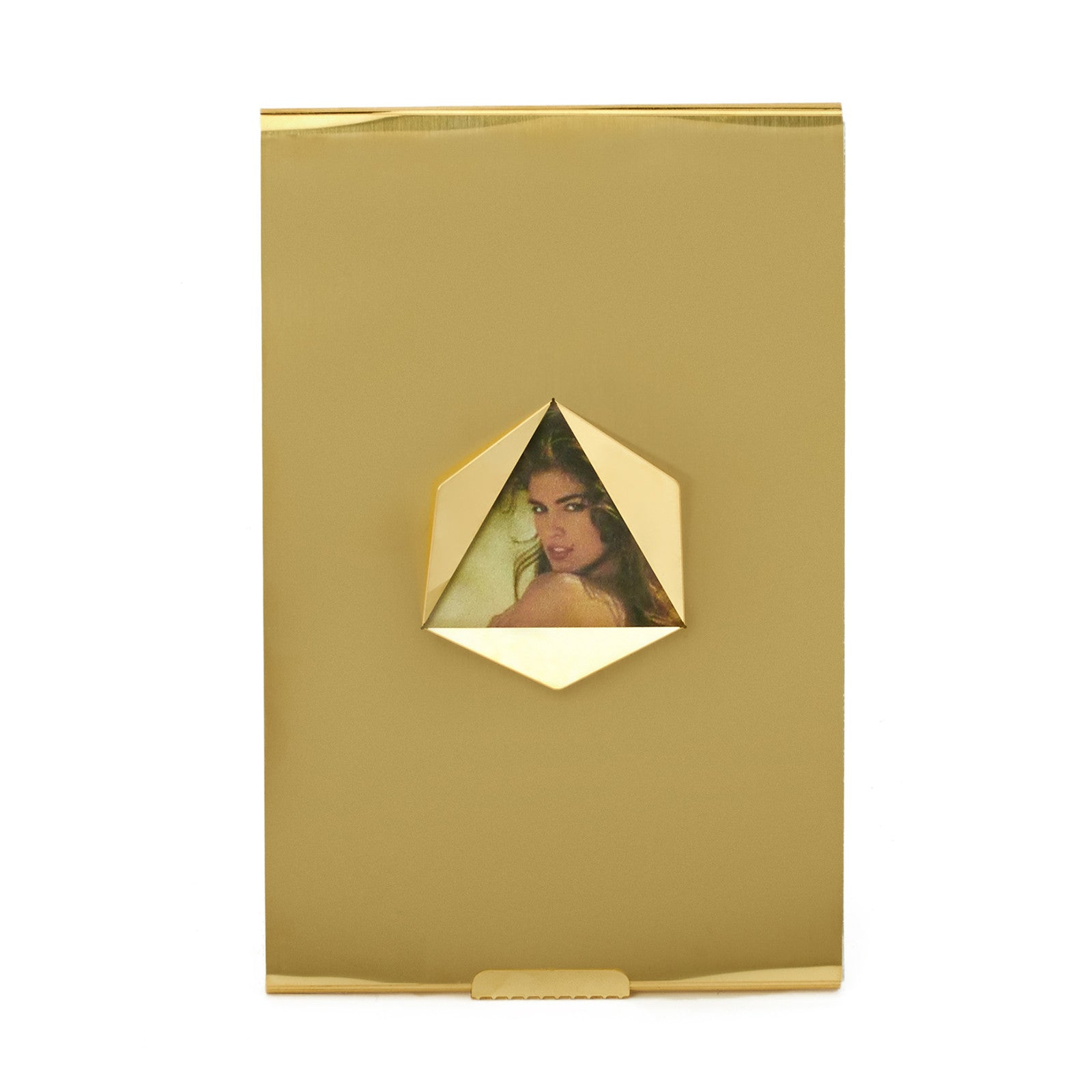 triangle brass picture frame by fundamental berlin