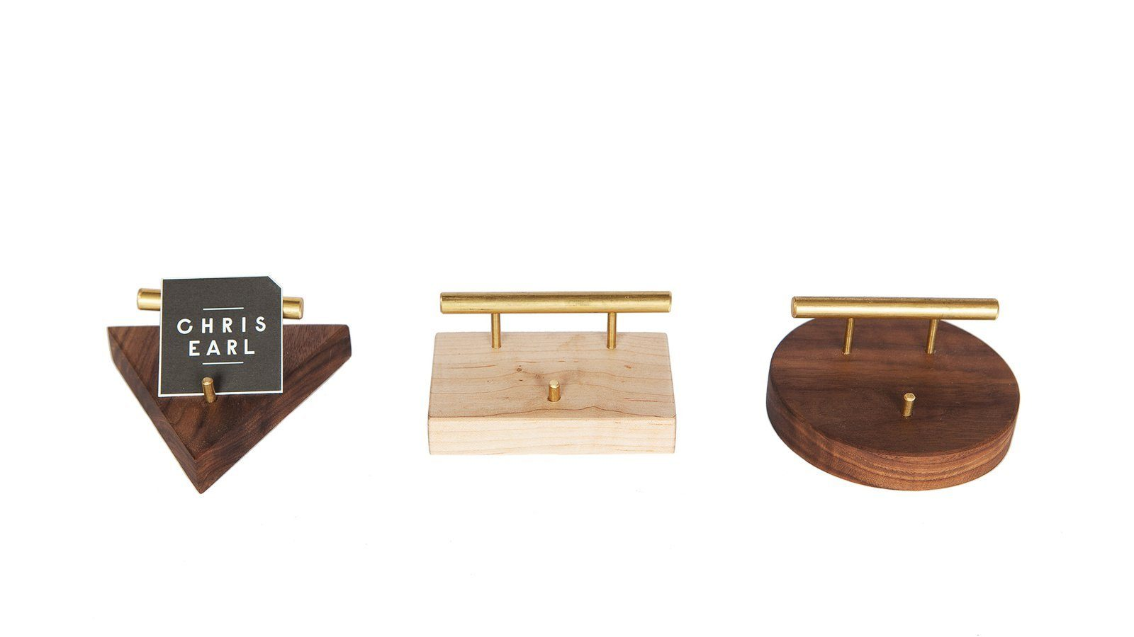 Wood and brass business card holder accessories decorative object wood and brass business card holder colourmoves