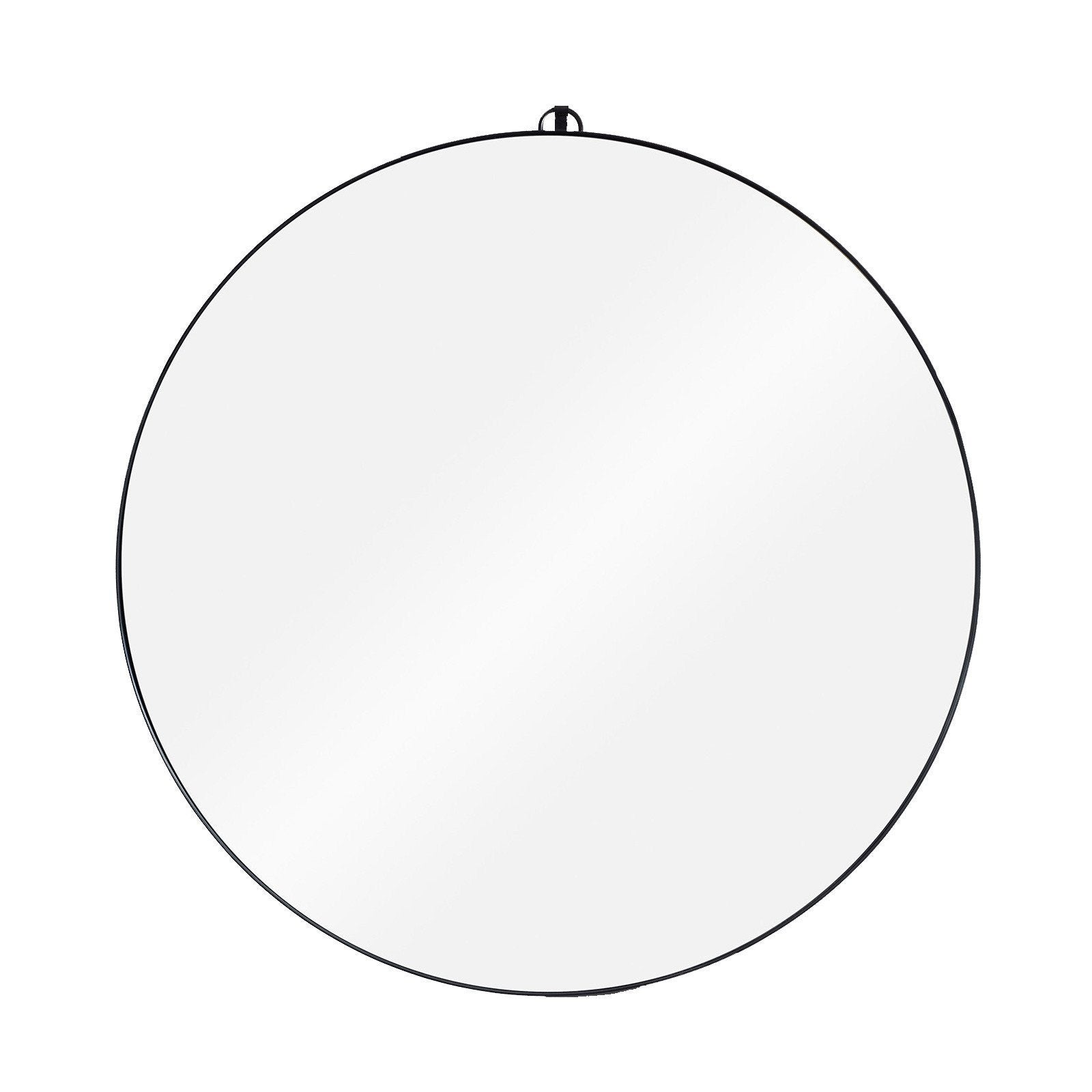 ... Accessories > Wall Mirror - Round Metal Framed Mirror By Consort ...