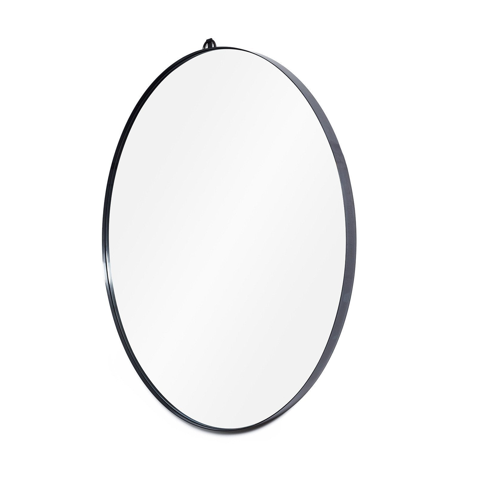 Round Metal Framed Mirror by Consort