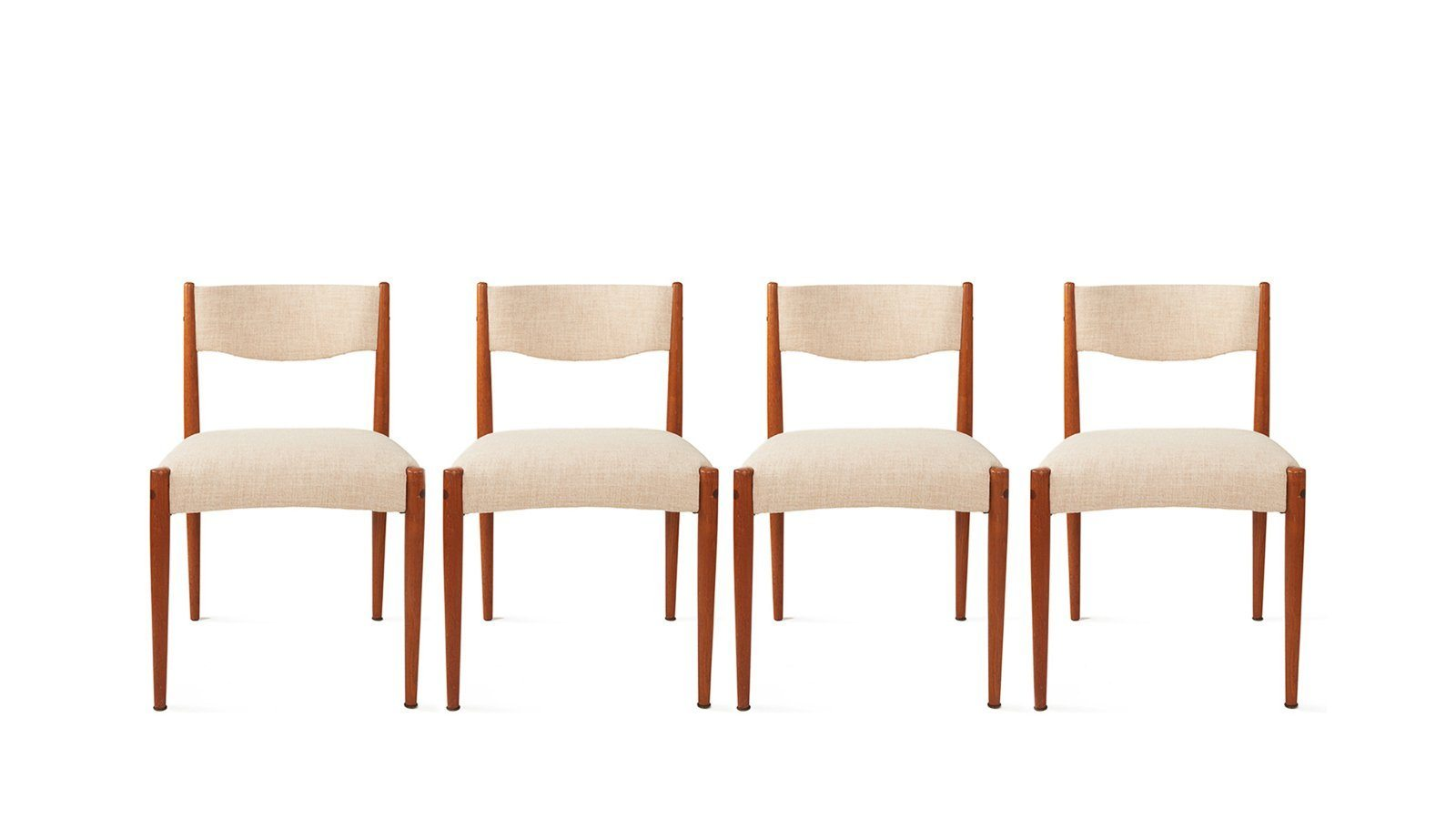 set of 4 dining chairs. Chairs \u003e Vintage Dining Chair - Danish (Set Of 4) Set 4