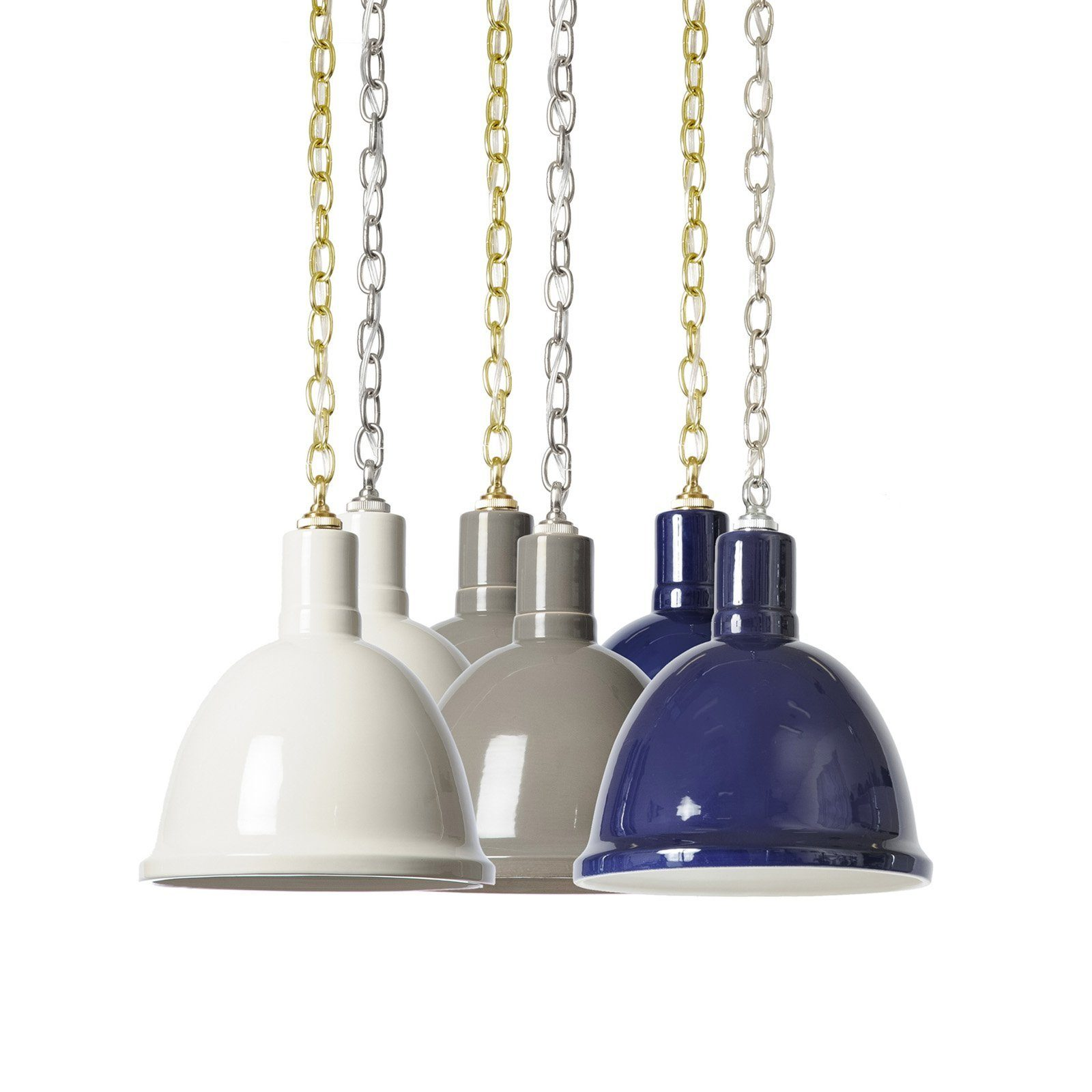 Navy clay dome pendant lighting pendant navy clay dome pendant mozeypictures Images