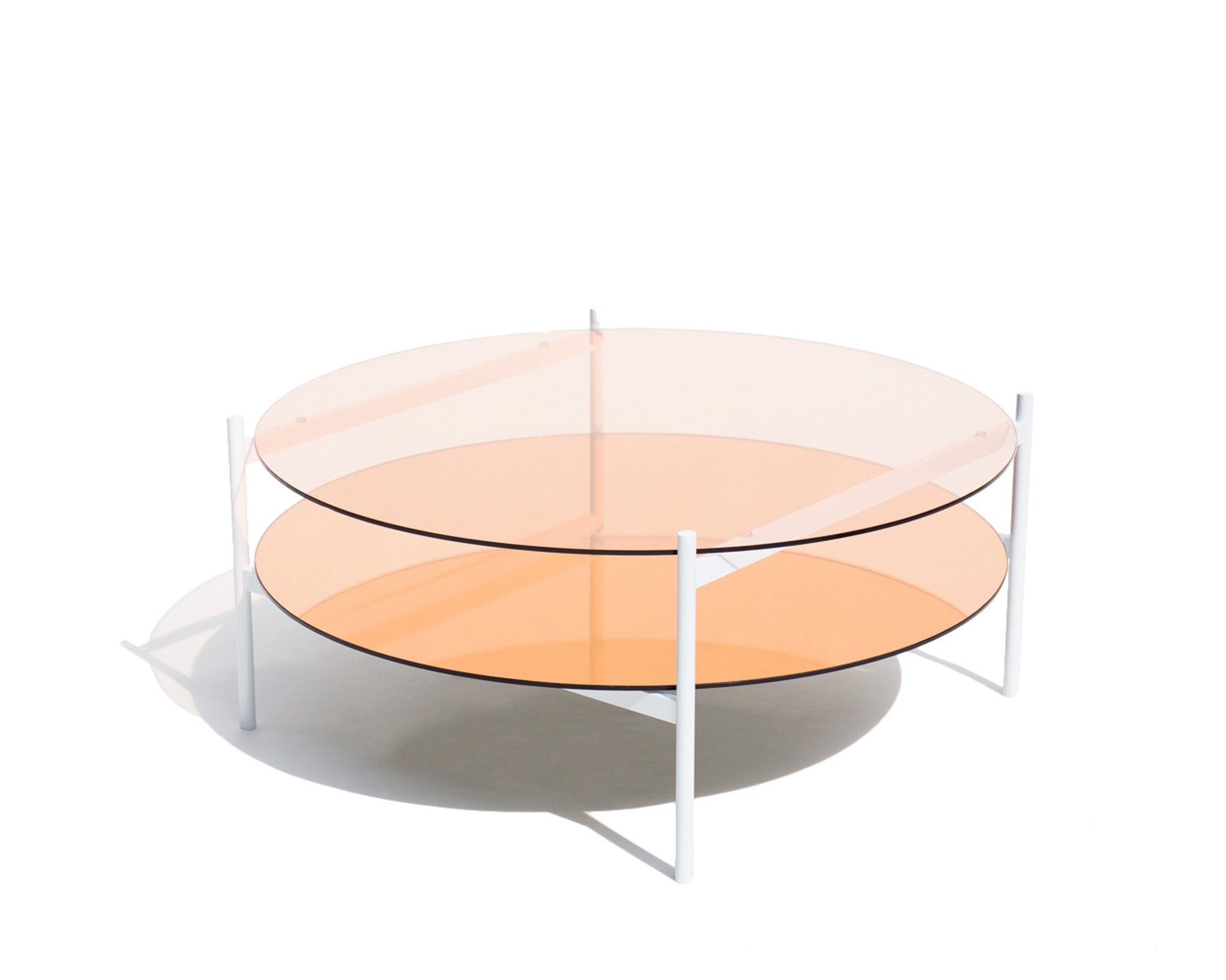 Tables U003e Coffee Table Round   Duotone Circular Coffee Table ...