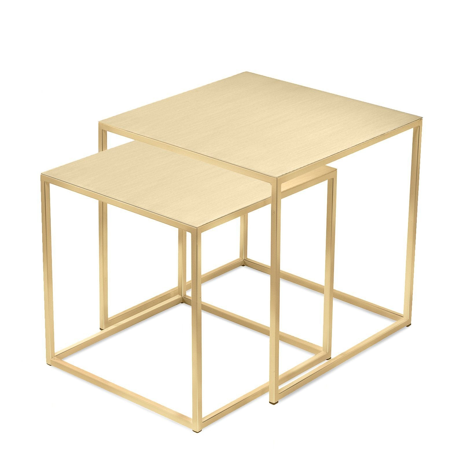 3ea01b8a1f161 ... Tables   Side Table - Frisco Brass Nesting Tables By Patrick Cain  Designs (Set Of ...