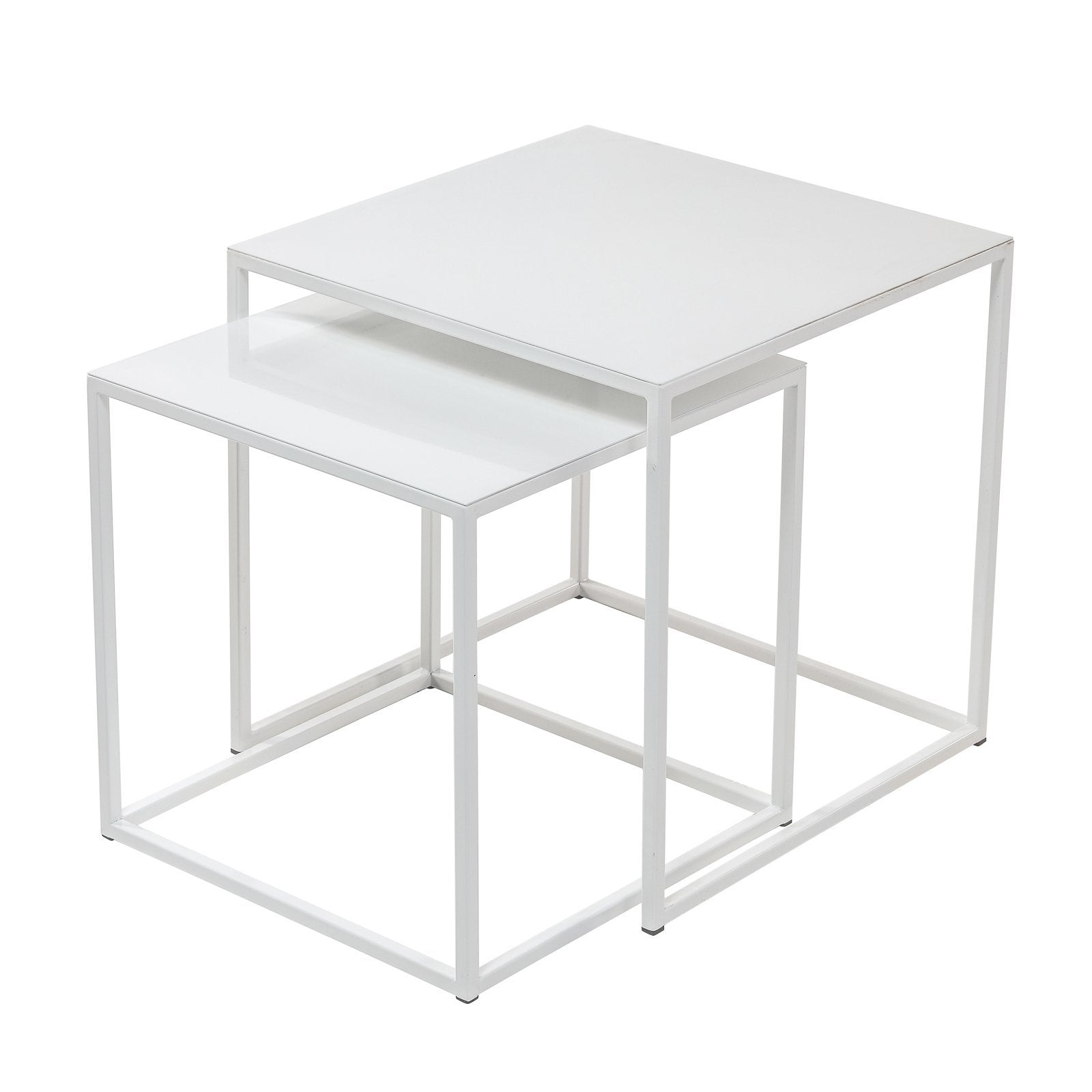 Frisco white nesting tables by patrick cain designs set of 2 tables side table frisco white nesting tables by patrick cain designs set of watchthetrailerfo