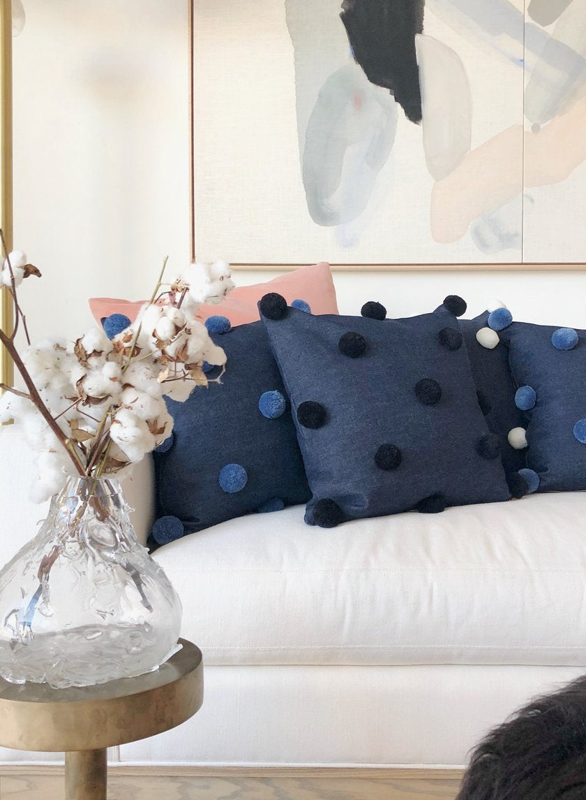 These Pom Pillows Are More Than a Puff Piece