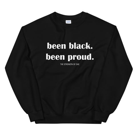 Been Black Sweatshirt (Unisex)