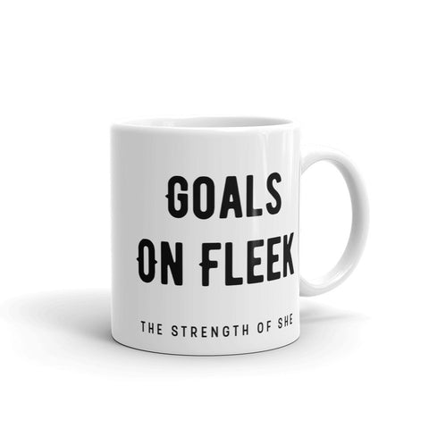 Goals on Fleek Mug