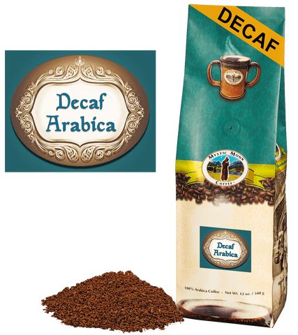 Decaffeinated Arabica, Coffee - Mystic Monk Coffee
