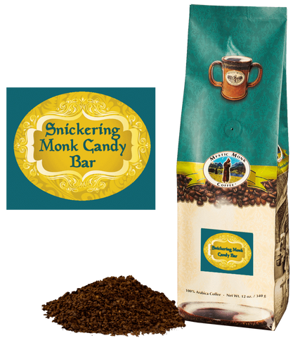 Snickering Monk Candy Bar