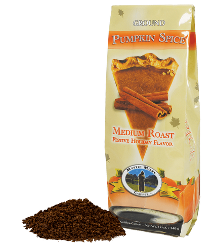 Pumpkin Spice, Archived Coffee - Mystic Monk Coffee