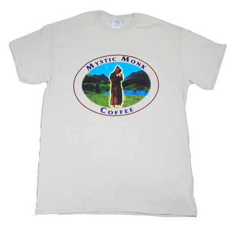Mystic Monk Coffee T-Shirt (Tee)