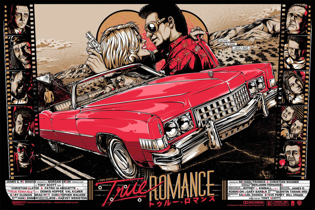 """Live Fast, Die Young"" TRUE ROMANCE (Regular) by Matt Ryan Tobin 02/07/2014"