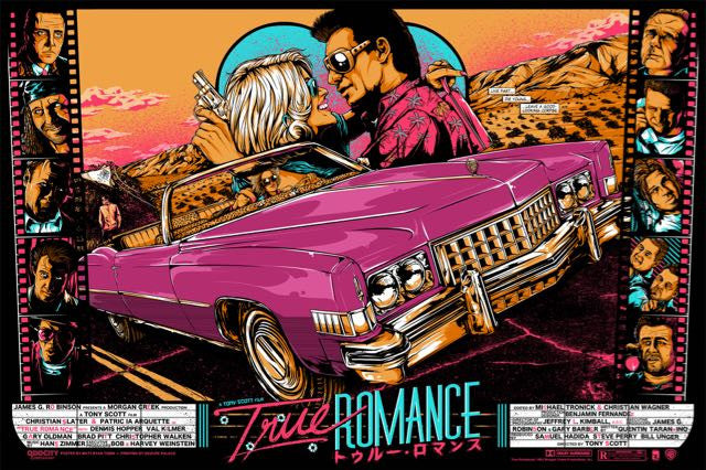 """Live Fast, Die Young"" TRUE ROMANCE (Variant) by Matt Ryan Tobin 02/07/2014"