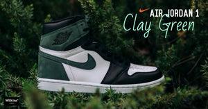 เผยโฉม AIR JORDAN 1 RETRO HIGH OG CLAY GREEN