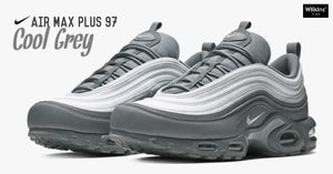 "สีใหม่ NIKE AIR MAX PLUS 97 ""COOL GREY"""