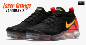 NIKE ปล่อย AIR VAPORMAX 2 FLYKNIT LASER ORANGE