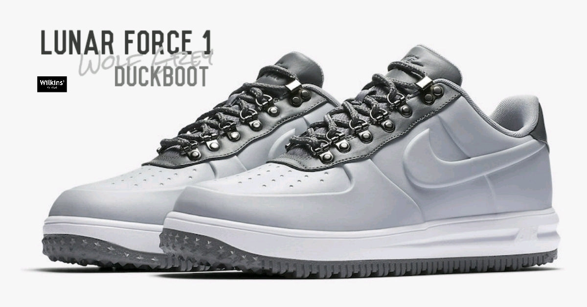 NIKE LUNAR FORCE 1 DUCKBOOT LOW สีใหม่ WOLF GREY