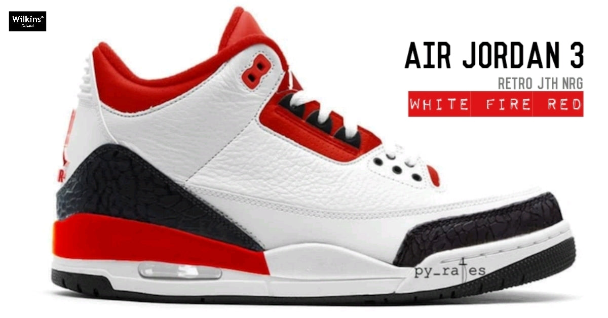 "แฟนๆ มาดู AIR JORDAN 3 JTH NRG ""FIRE RED"""