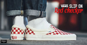 "แฟนๆ มาดู VANS OG CLASSIC SLIP-ON ""RED CHECKER"""
