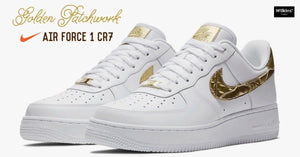 NIKE ปล่อย AIR FORCE 1 LOW CR7 GOLDEN PATCHWORK มกราคม2018 นี้!!