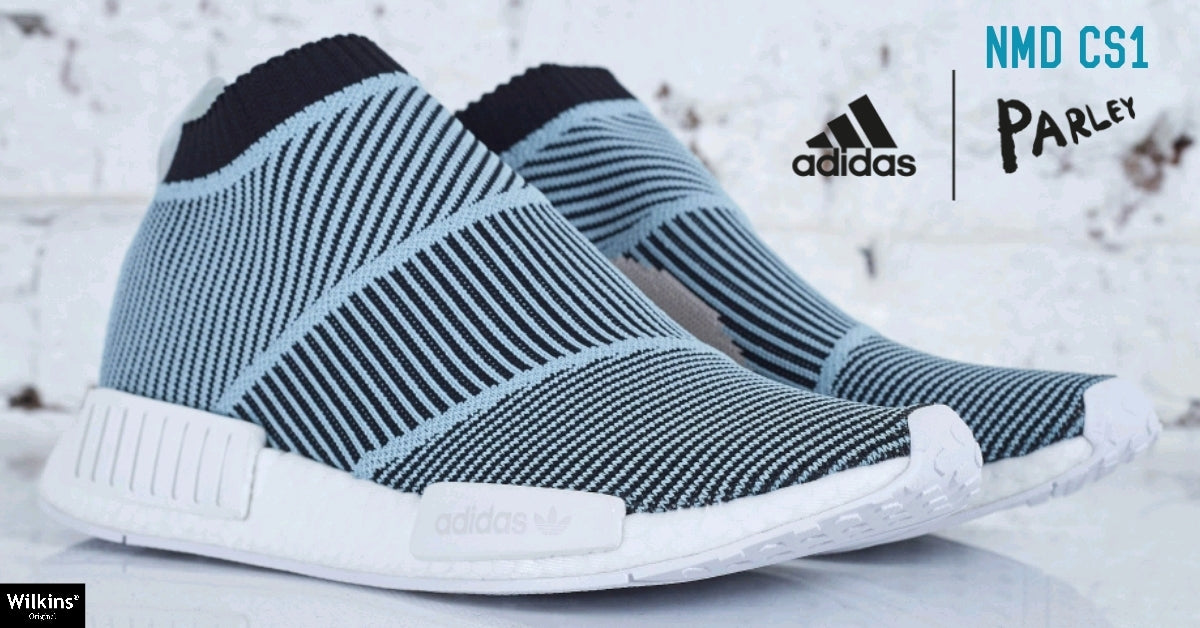 PARLEY FOR THE OCEANS X ADIDAS ปล่อย NMD CS1