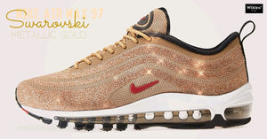 NIKE ปล่อย AIR MAX 97 SWAROVSKI METALLIC GOLD