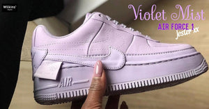 NIKE ปล่อย AIR FORCE 1 LOW JESTER สี VIOLET MIST