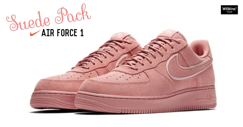 "NIKE ปล่อย AIR FORCE 1 LOW ""SUEDE PACK"""
