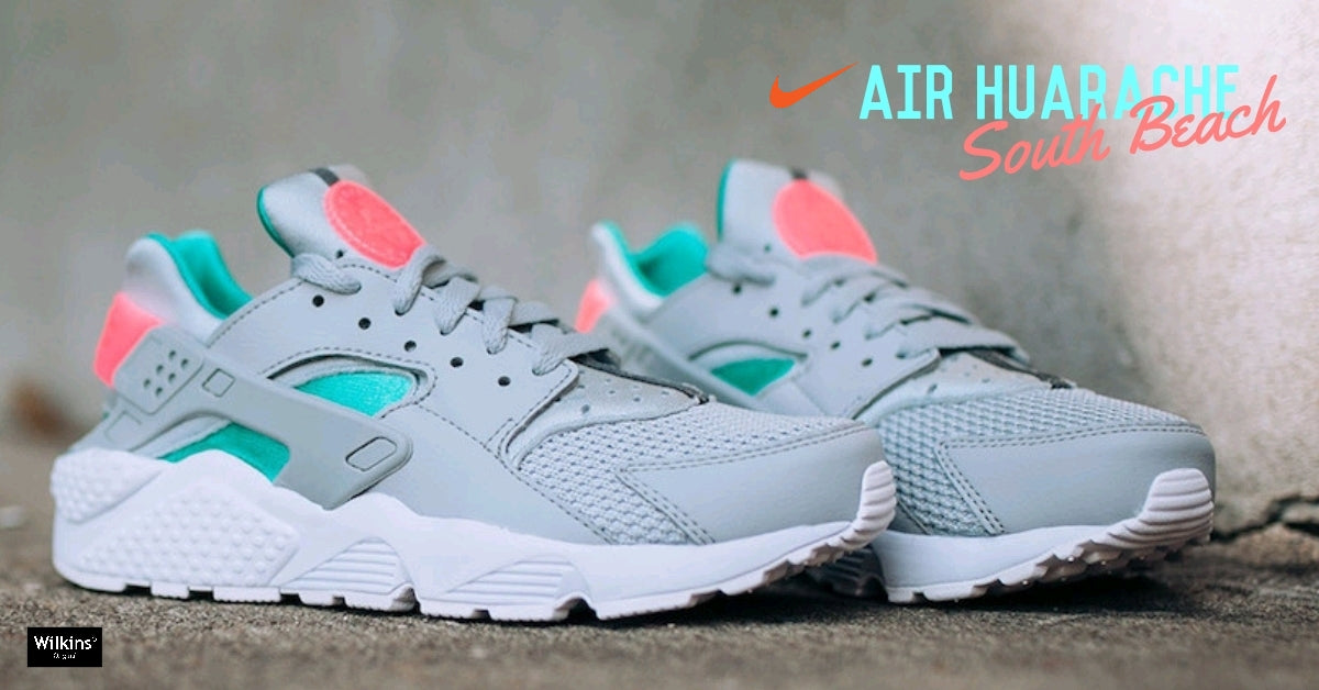 "NIKE ปล่อย NIKE AIR HUARACHE ""SOUTH BEACH"""