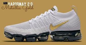 NIKE ปล่อย AIR VAPORMAX 2.0 VAST GREY METALLIC GOLD