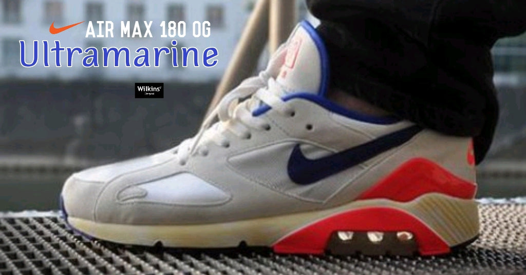 "NIKE ปล่อย NIKE AIR MAX 180 OG ""ULTRAMARINE"""