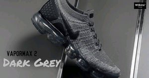 "NIKE ปล่อย AIR VAPORMAX FLYKNIT 2 ""DARK GREY"""
