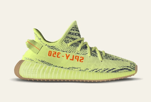 adidas ปล่อย Yeezy Boost 350 V2 สีใหม่ 'Semi Frozen Yellow'