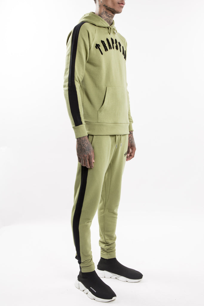 Chenille Irongate Tracksuit - olive/black