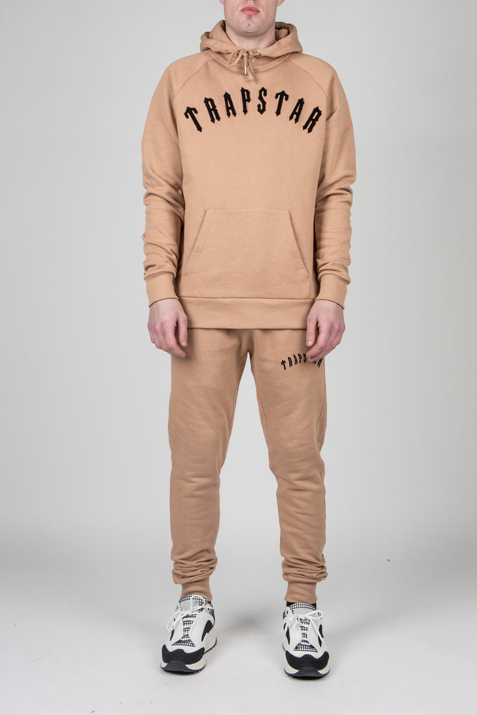 Mens Chenille Irongate Tracksuit - Camel