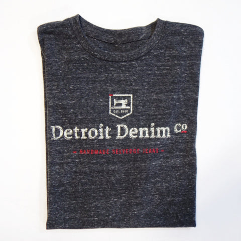 Tri-Blend Logo T-Shirt in Charcoal Heather