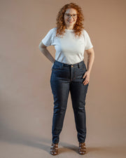 The Curvy Cut in Cone Mills Denim