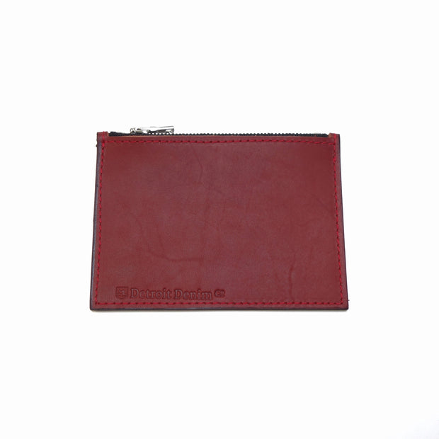 DDCo. Leather Zip Wallet