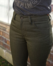Made to Order Run: Women's Olive Jeans