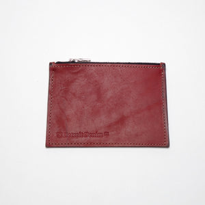 Leather Zip Wallet
