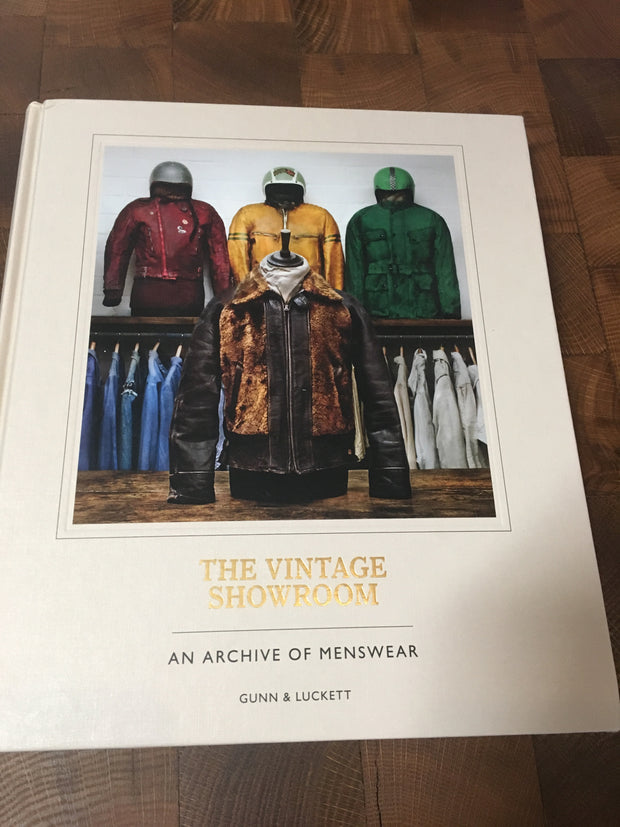 The Vintage Showroom Hardcover Book
