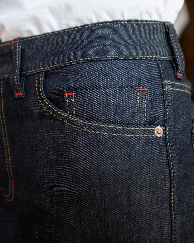 The Classic Cut in Cone Mills Denim