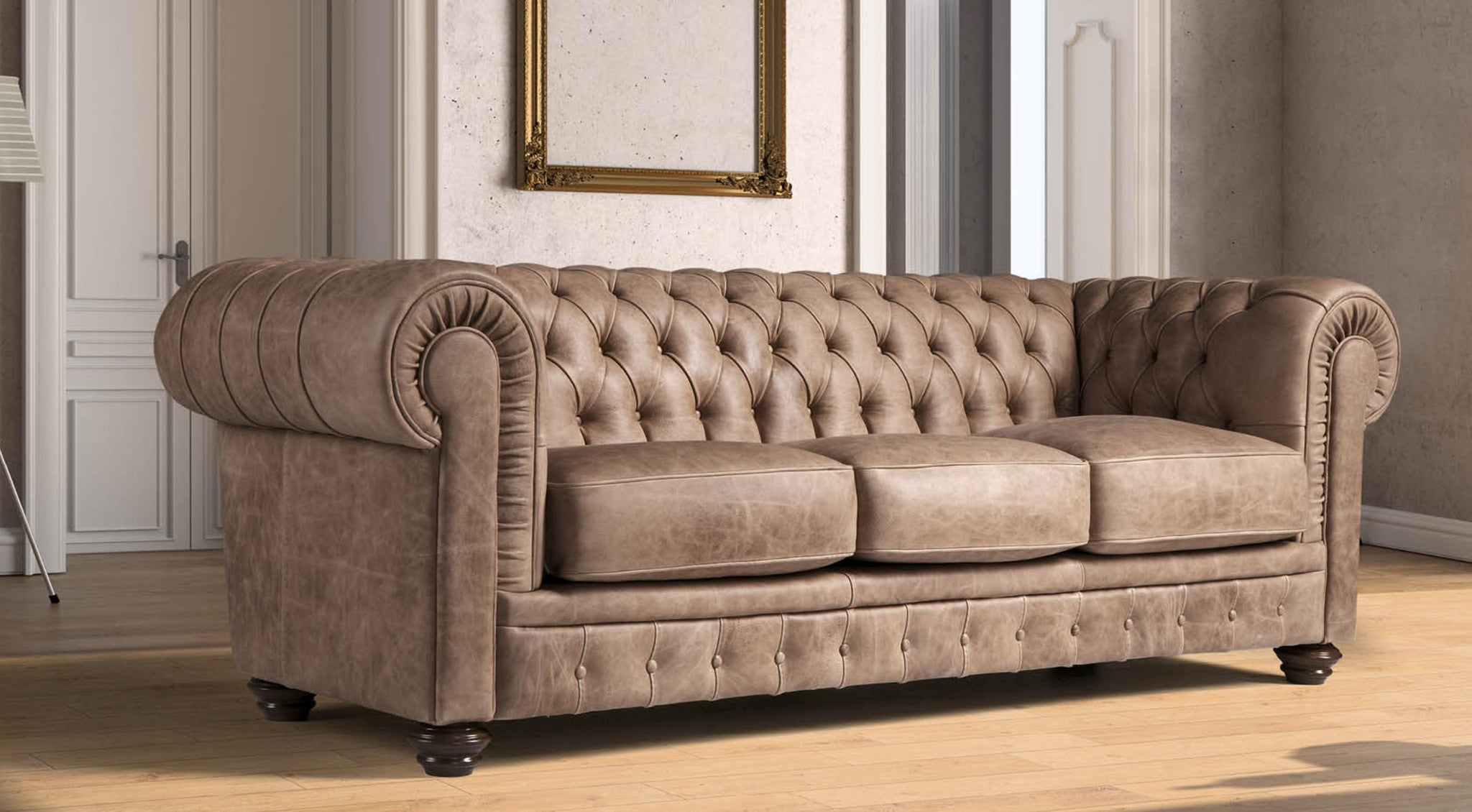Italian Leather Sofas in Barlborough