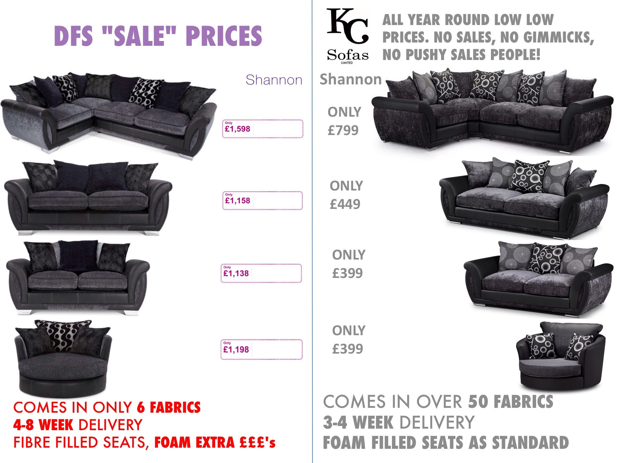 Discount Sofas in Bradford