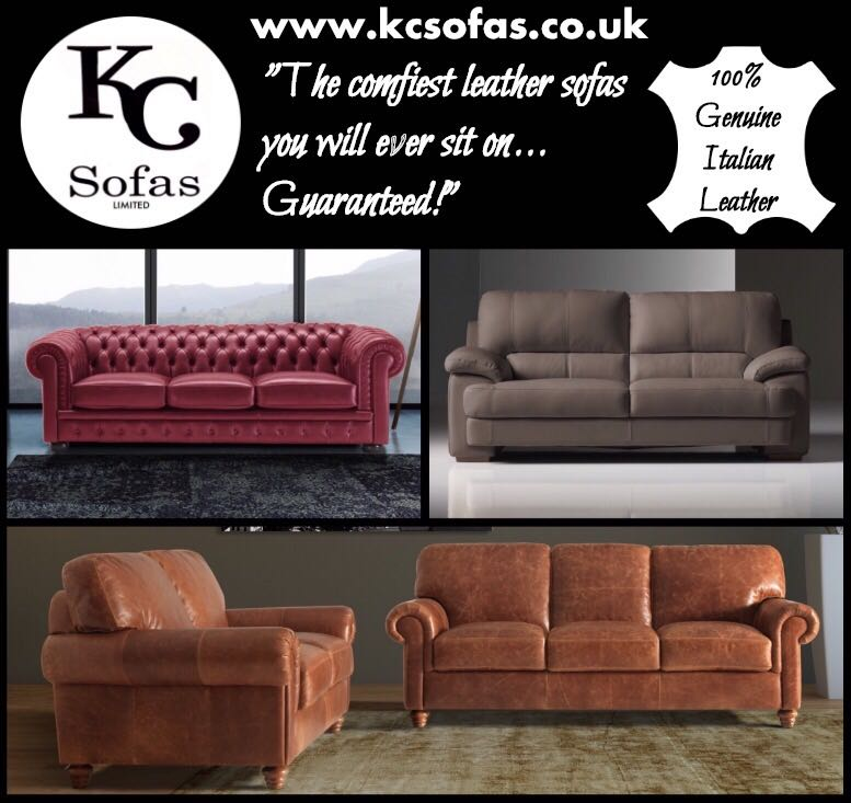 Italian Leather Sofas in Pontefract