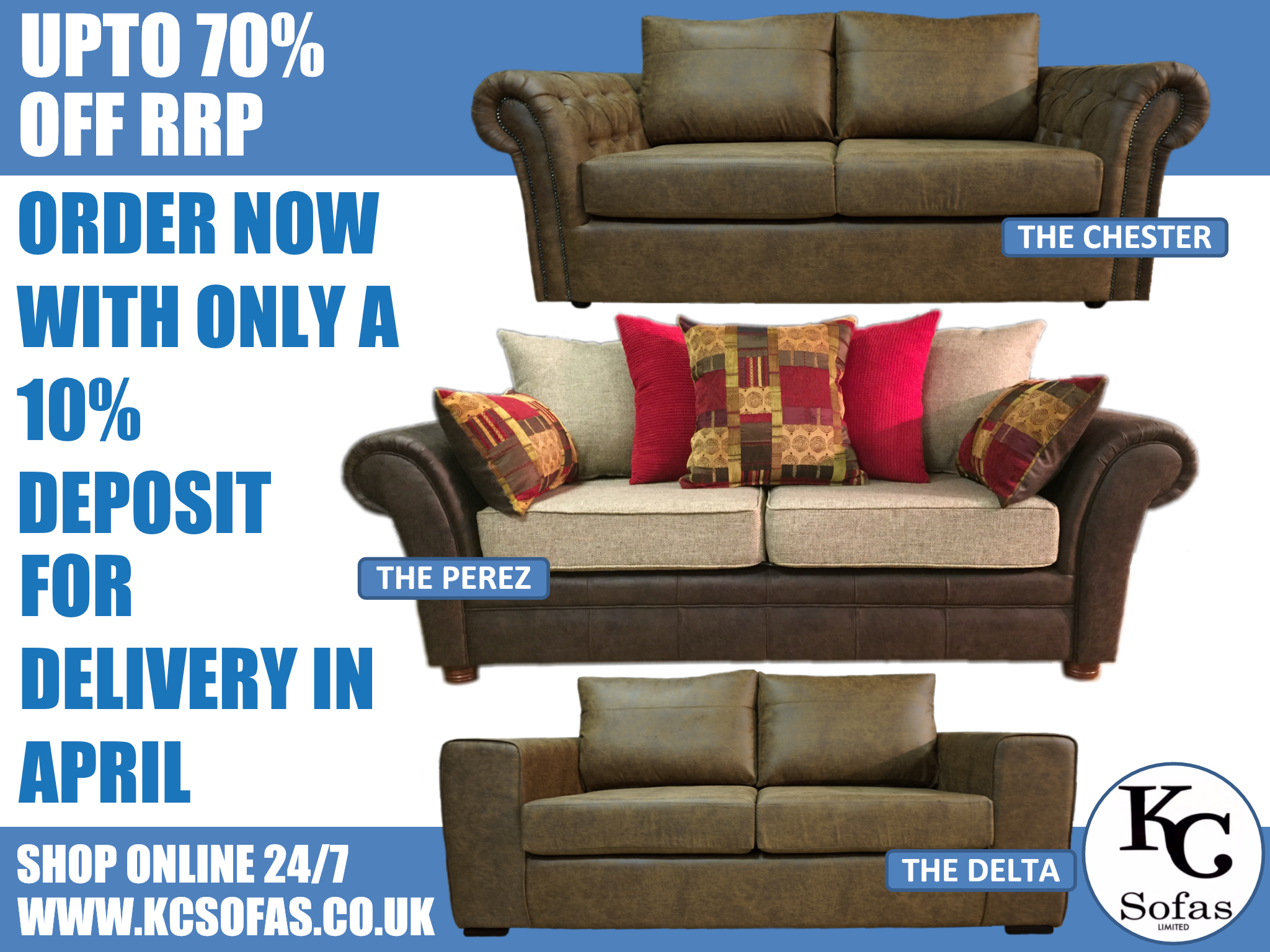 Discount Sofas in Rossington