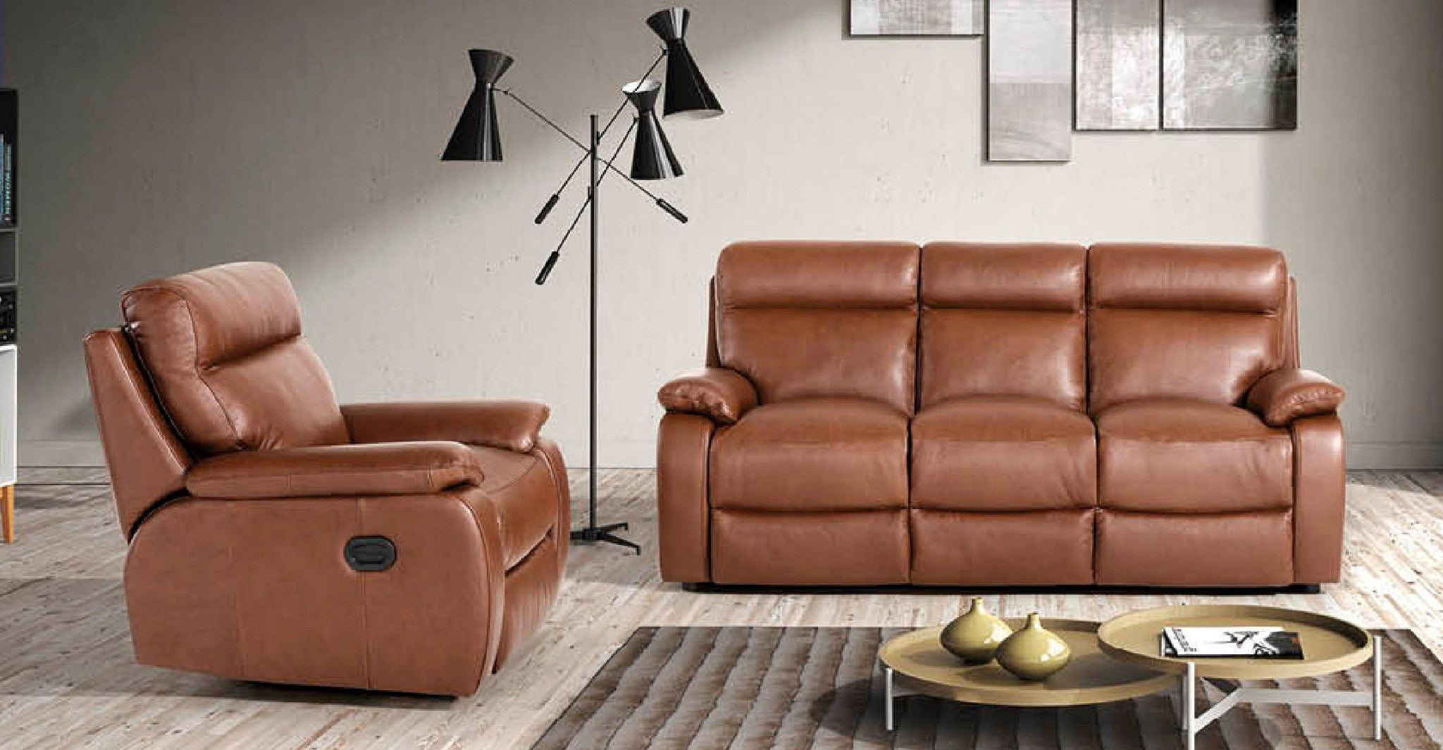 Italian Leather Sofas in Mansfield Woodhouse