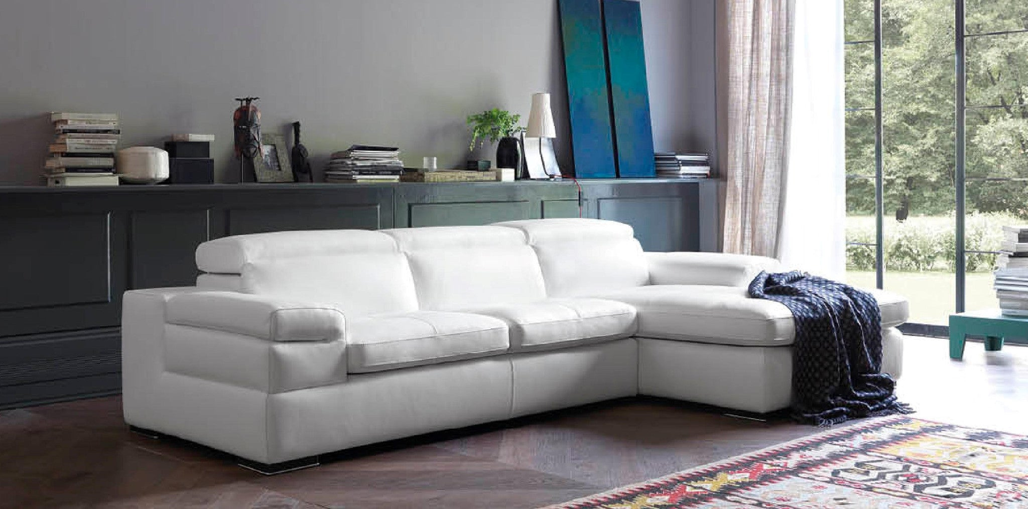 Italian Leather Sofas in Cleethorpes